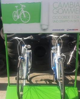 Cambia Gomme  ti da uno strappo in bici